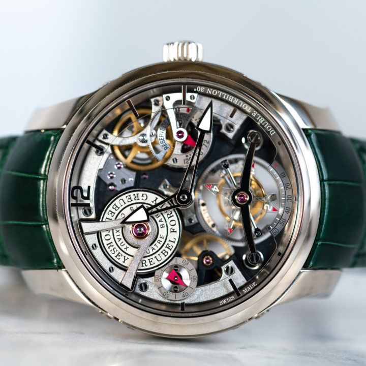 Double Tourbillon Technique WG