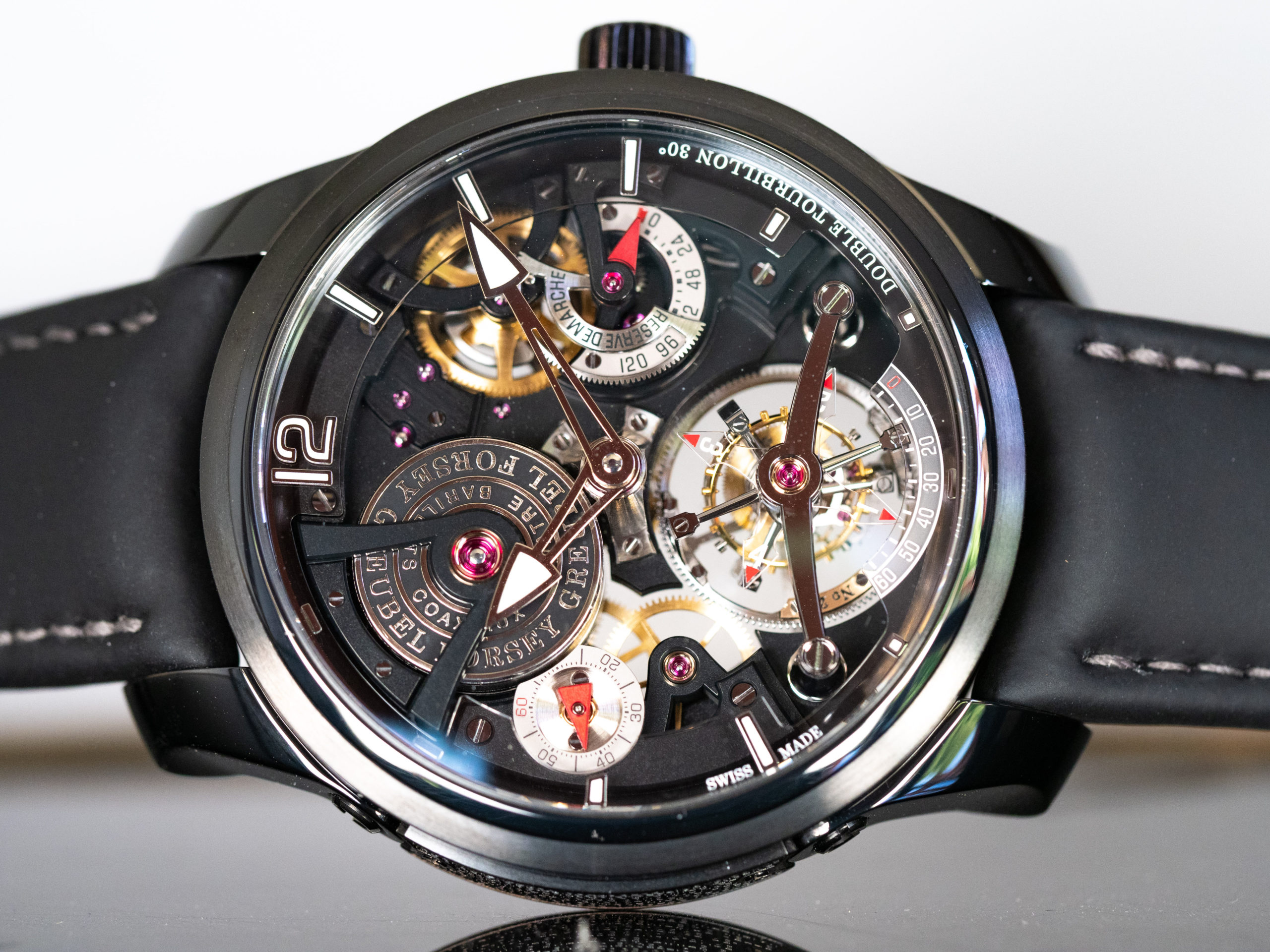 DOUBLE TOURBILLON TECHNIQUE BLACK TI