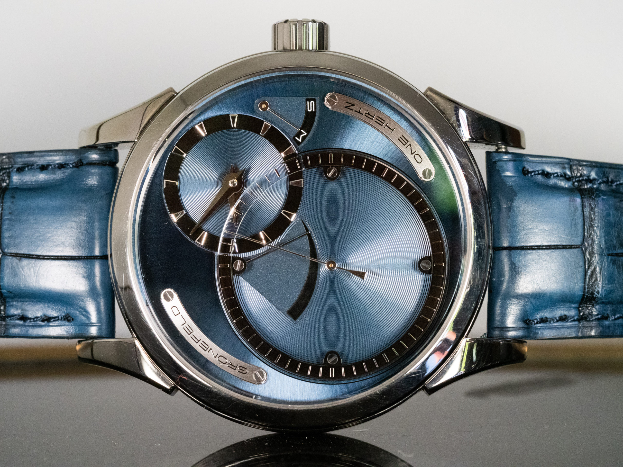 One Hertz Custom Dial