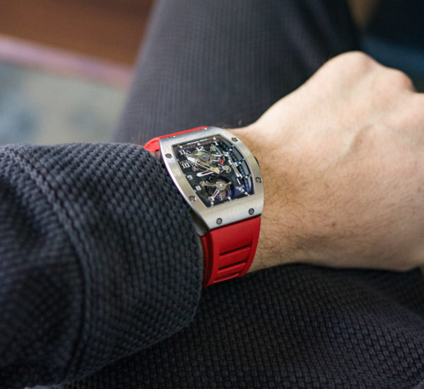 Richard Mille RM002 Tourbillon Wrist