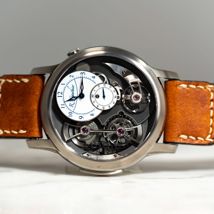 Logical One Titanium with White Enamel Dial