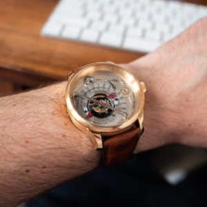 Greubel Forsey Invention Piece 1 Wrist Shot