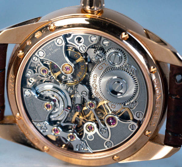 Gronefeld 1941 Rose Gold Movement