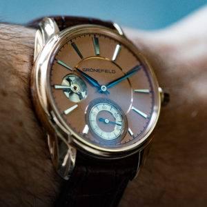 Gronefeld 1941 Rose Gold Wrist