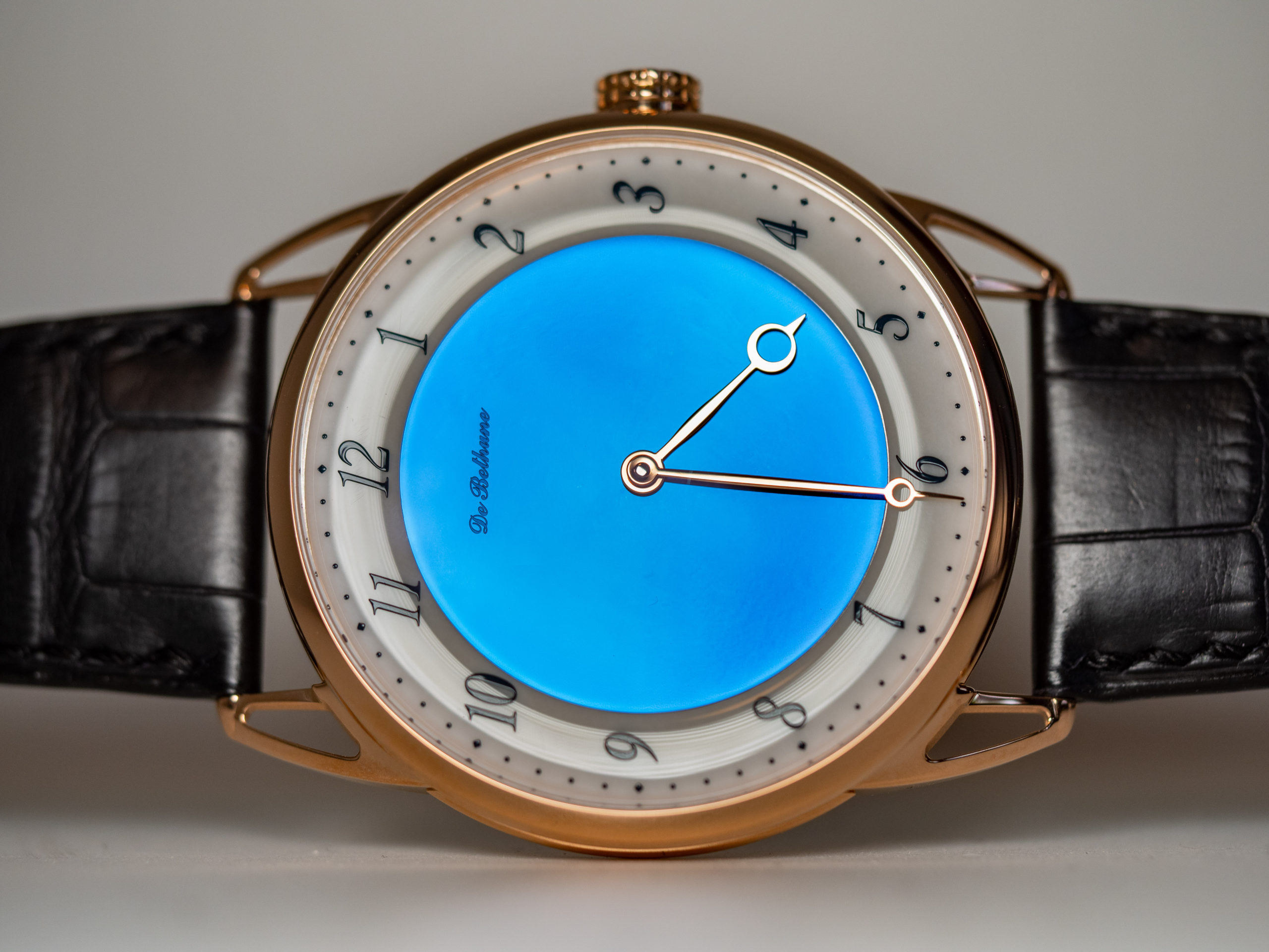 De Bethune DB25 Midnight Blue