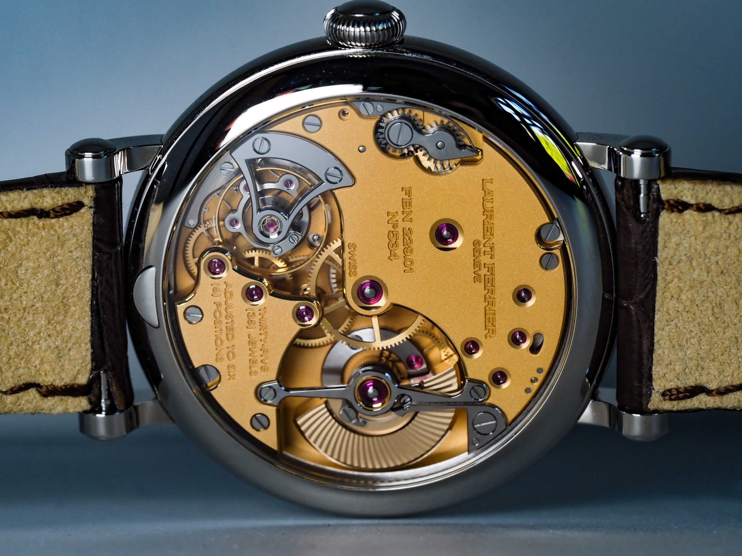Laurent Ferrier Montre Ecole Movement