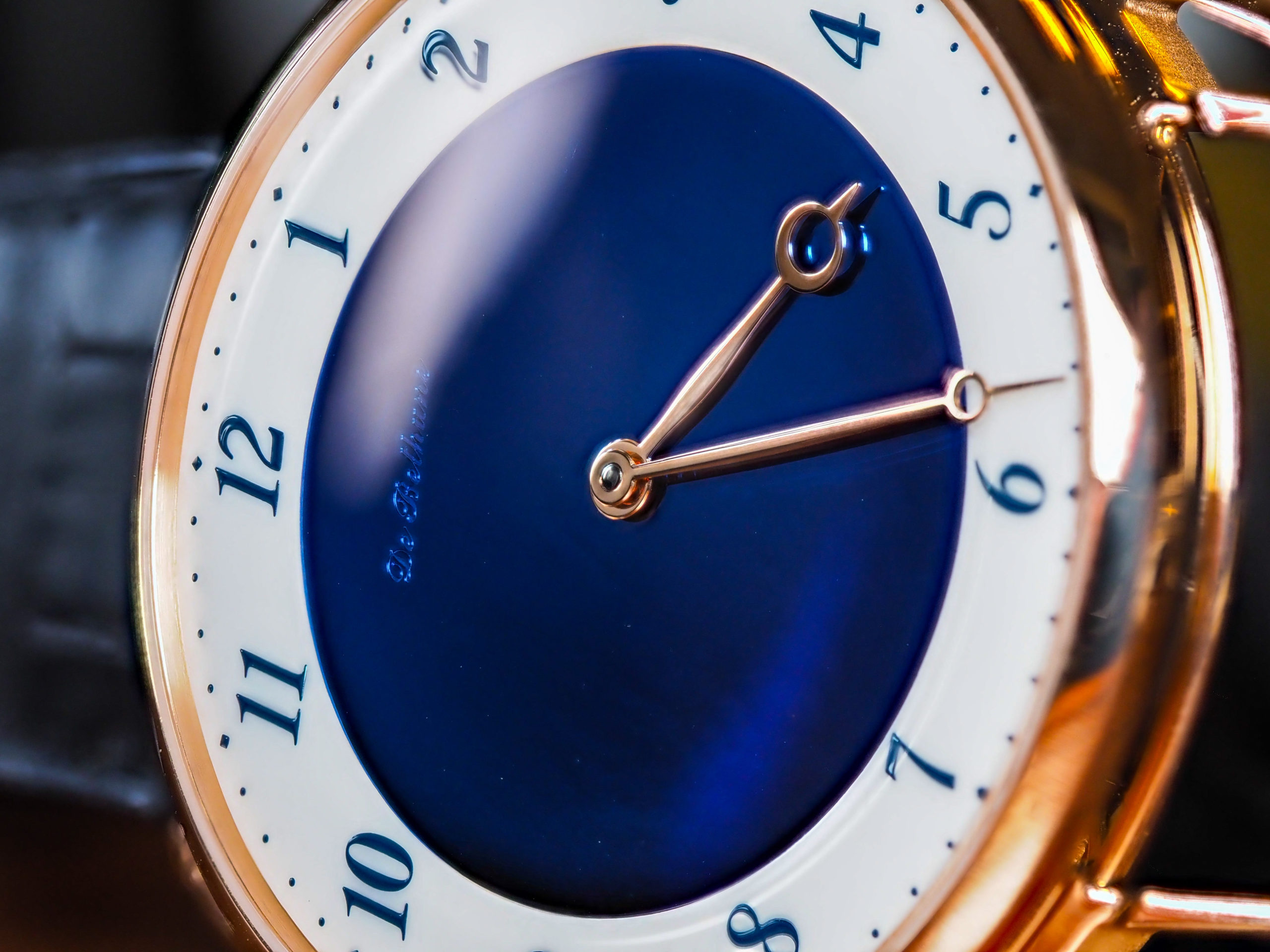 De Bethune DB25 Midnight Blue Dial