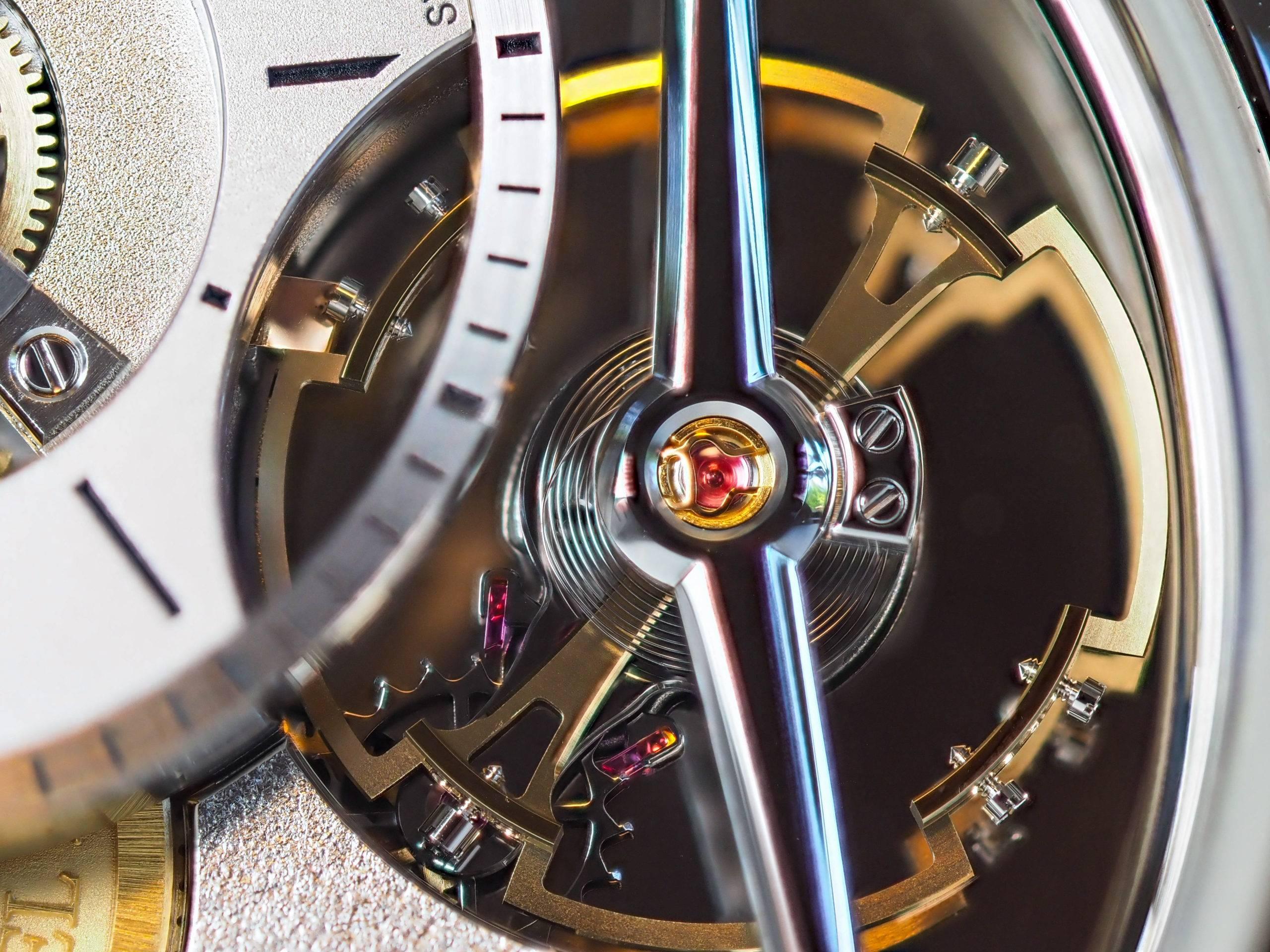 Greubel Forsey Balancier Contemporain Balance Wheel