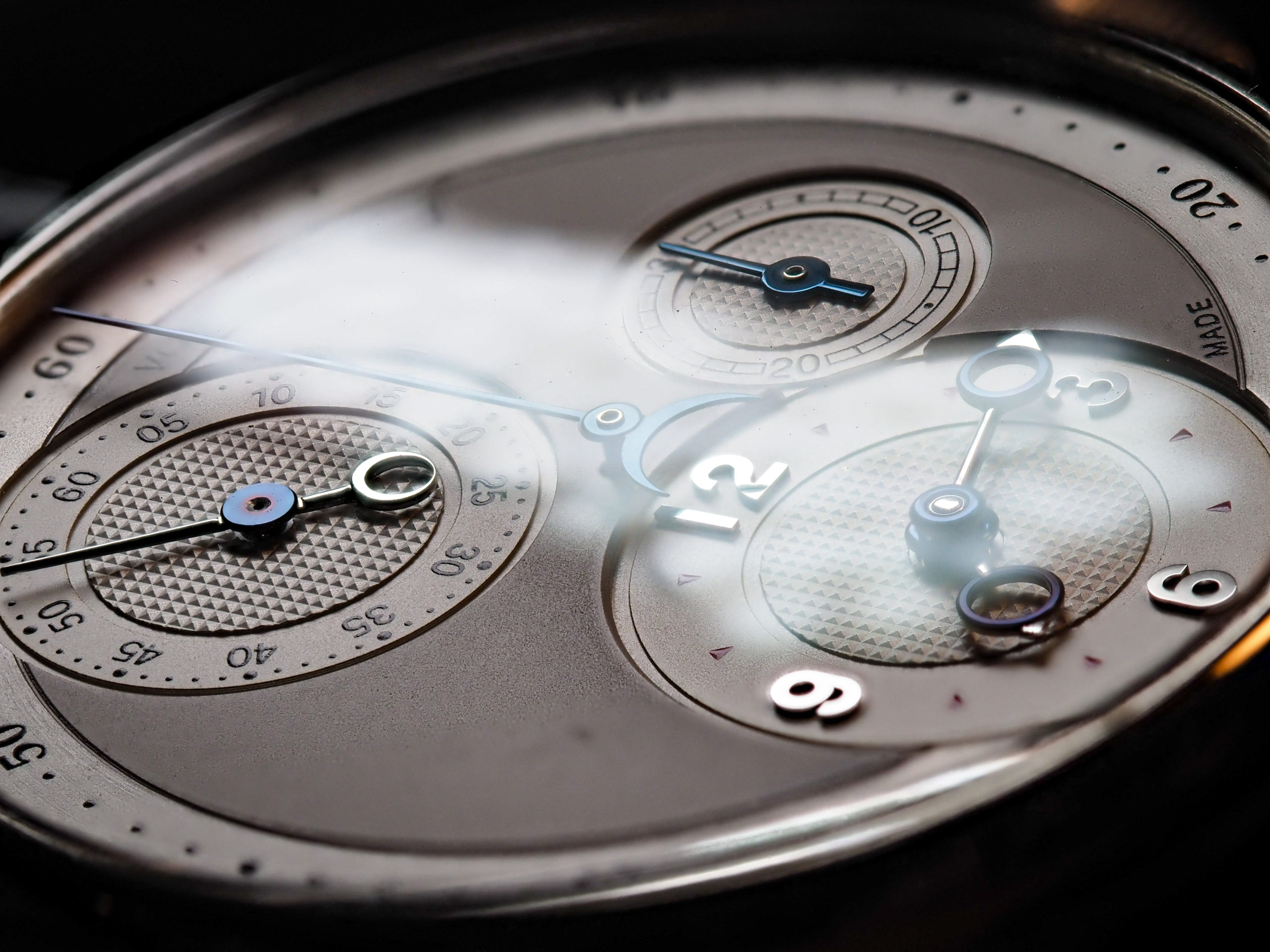 Kari Voutilainen Masterpiece Chronograph Dial