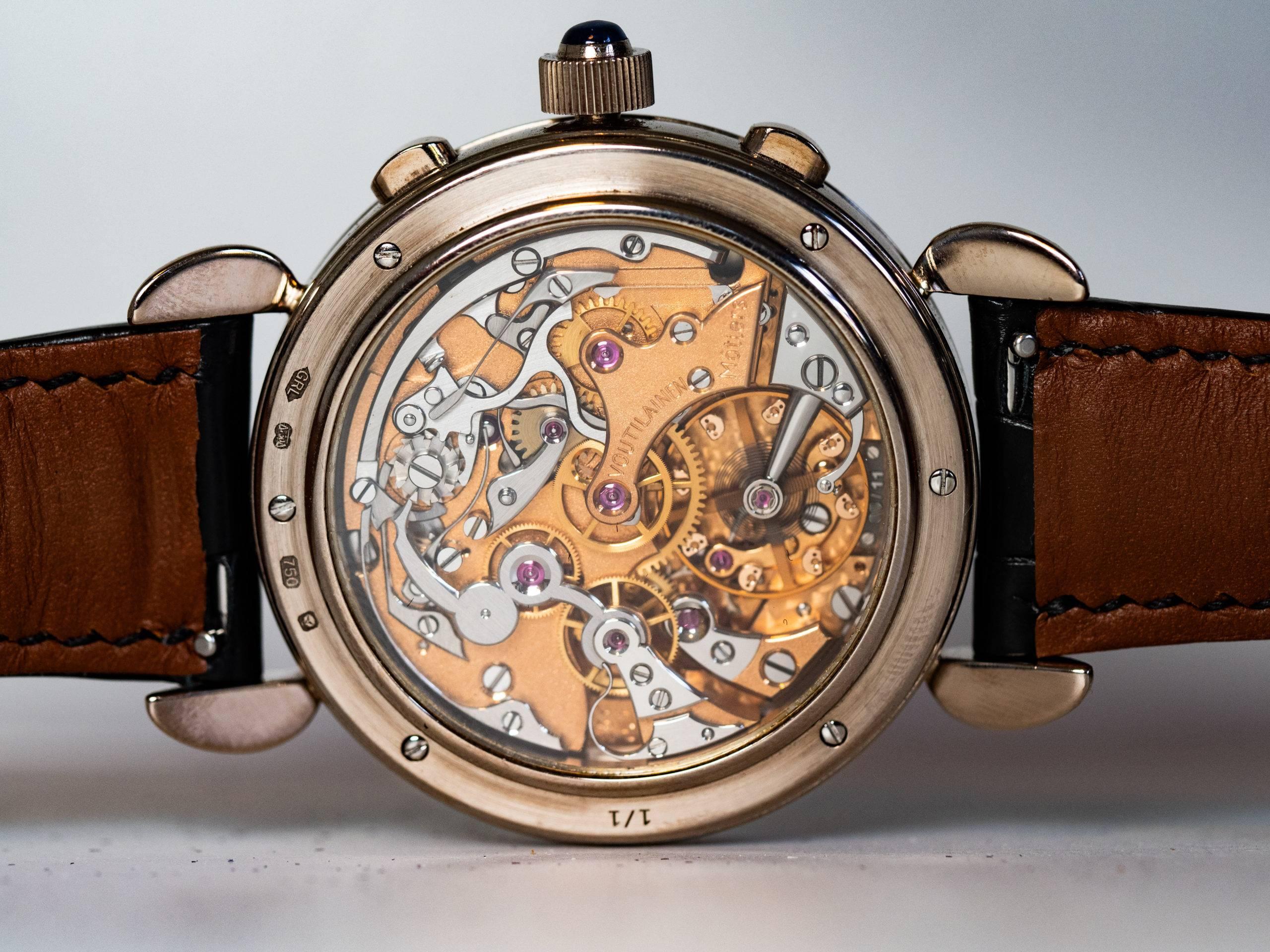 Kari Voutilainen Masterpiece Chronograph Movement