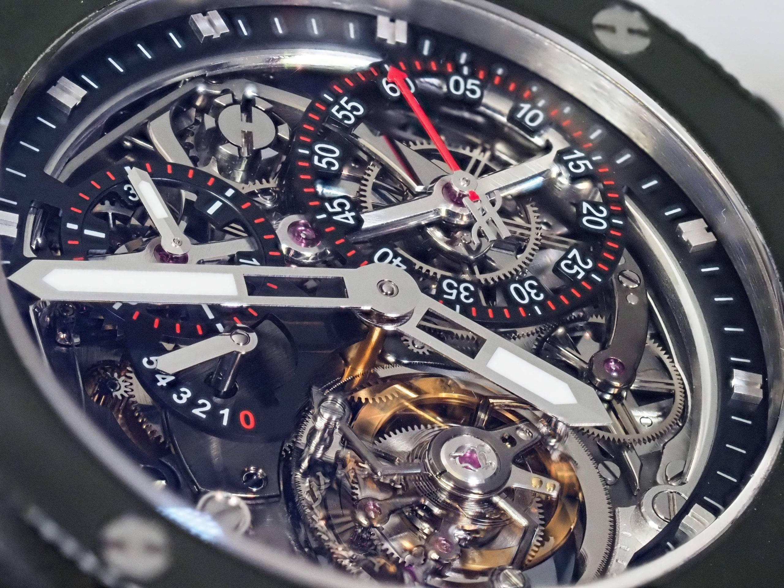 Hublot Big Bang Tourbillon Chronograph BNB by Rexhep
