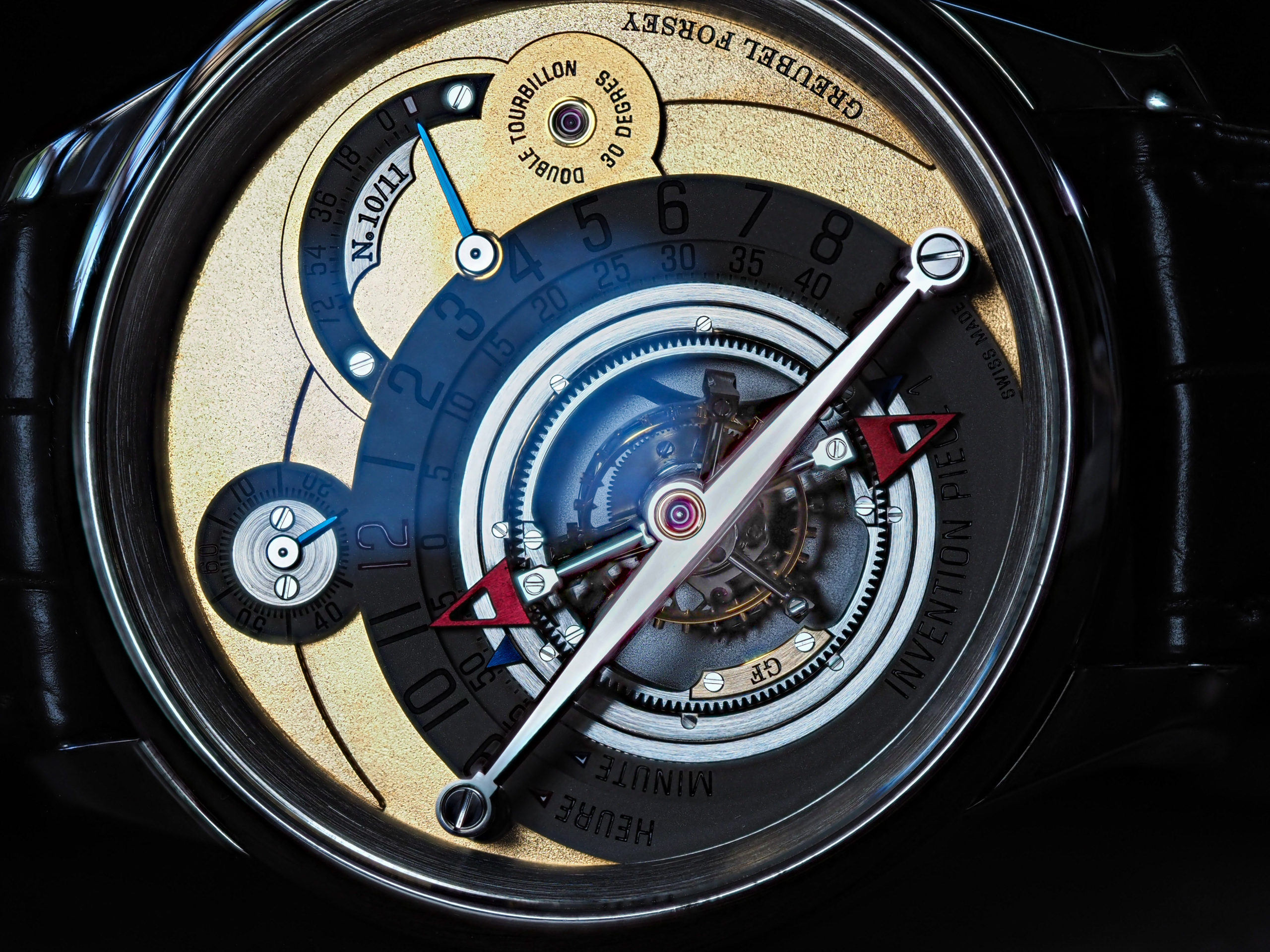 Greubel Forsey Invention Piece 1 IP1 Gold