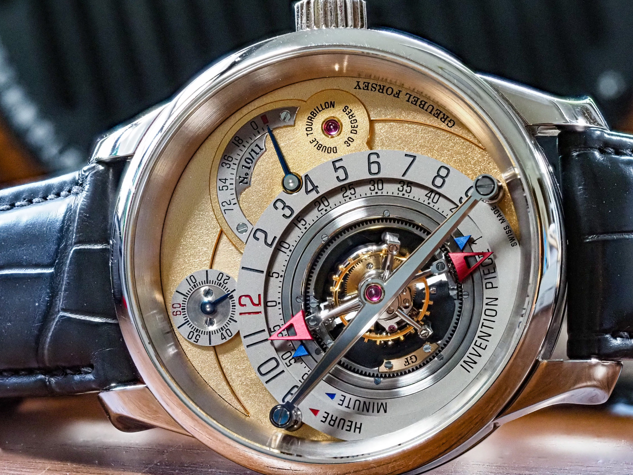 Greubel Forsey Invention Piece 1 IP1 Dial