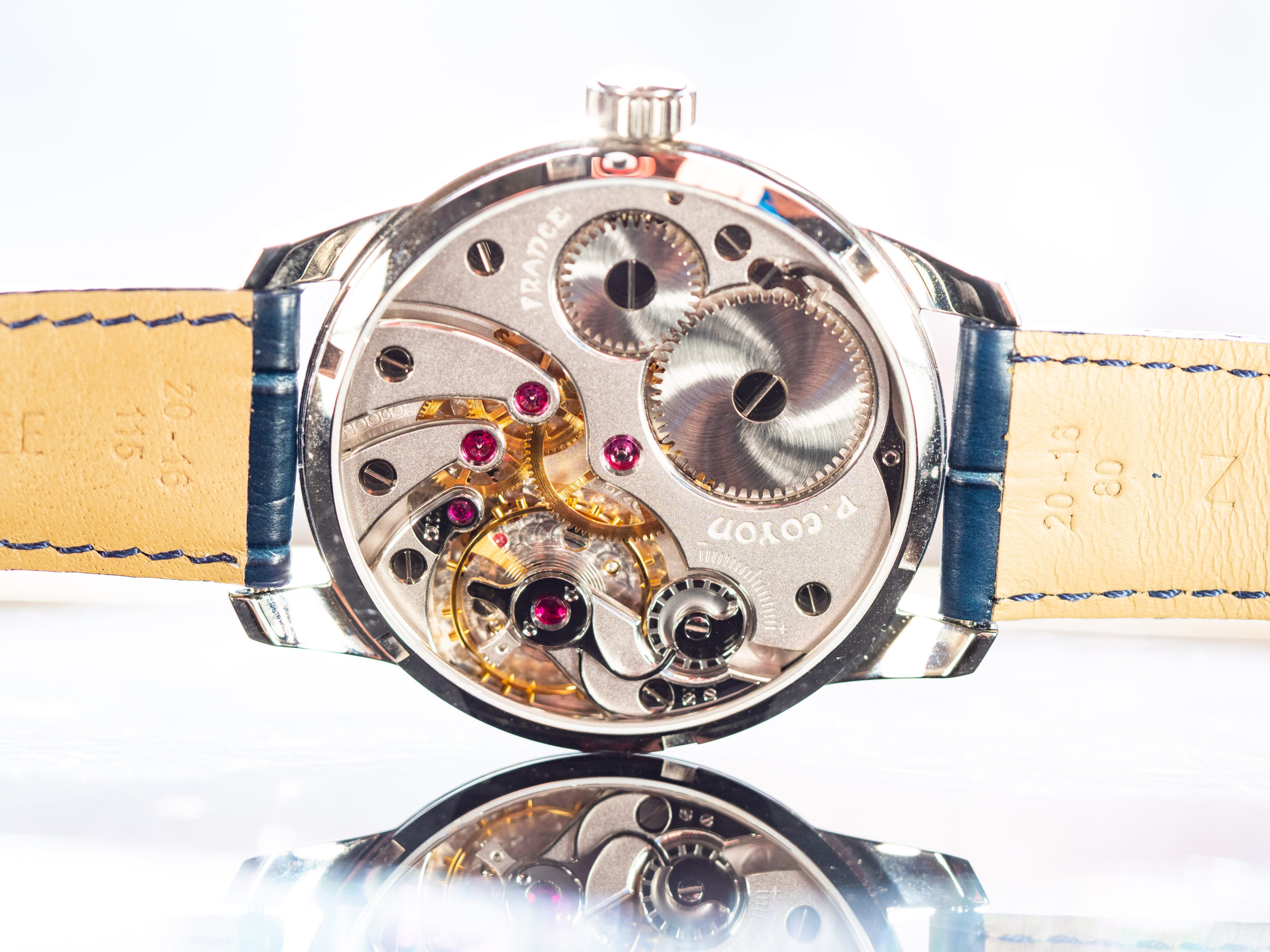 Pascal Coyon Chronometre Series 1 Movement